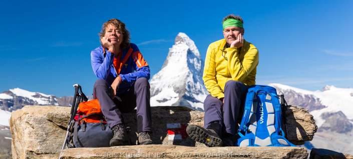 Rothorn, Aussichtsloge zum Matterhorn