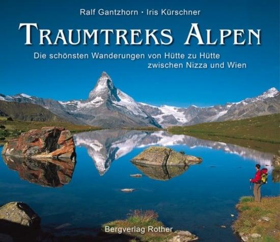Cover Traumtreks Alpen von Iris Kürschner, Bergverlag Rother
