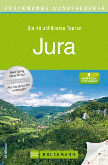 Cover Wanderführer Jura von Iris Kürschner