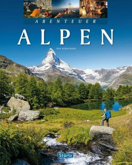 Cover Abenteuer Alpen von Iris Kürschner