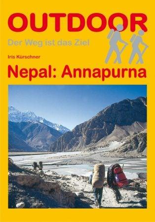 Cover Nepal: Annapurna von Iris Kürschner