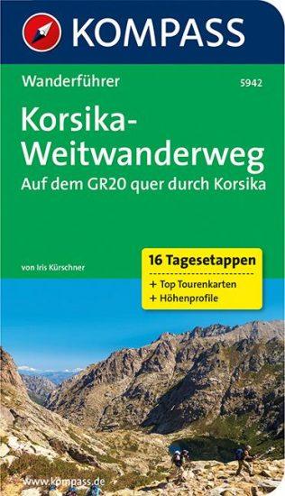 Cover GR20 Korsika von Iris Kürschner