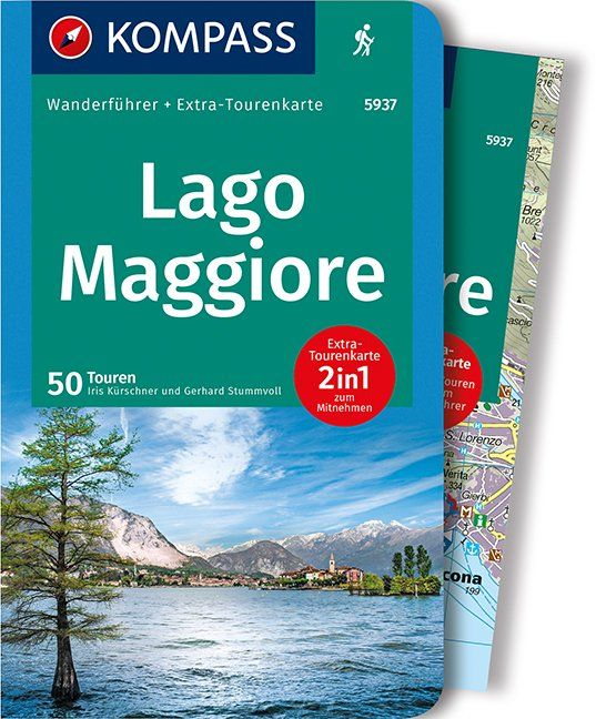 Wanderführer Lago Maggiore von Iris Kürschner und Gerhard Stummvoll