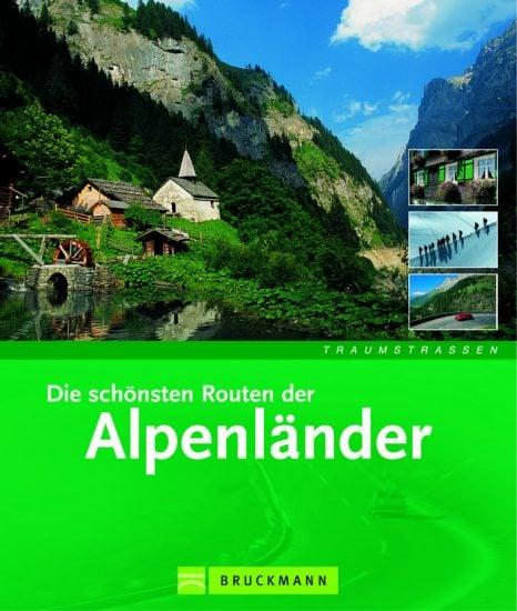 Cover Traumstrassen Alpenländer von Iris Kürschner