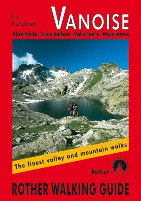 Cover Rother Walking guide Vanoise von Iris Kürschner