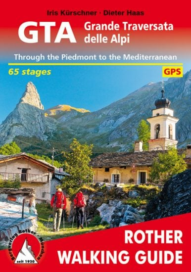 Cover Rother Walking guide GTA Grande Traversata delle Alpi