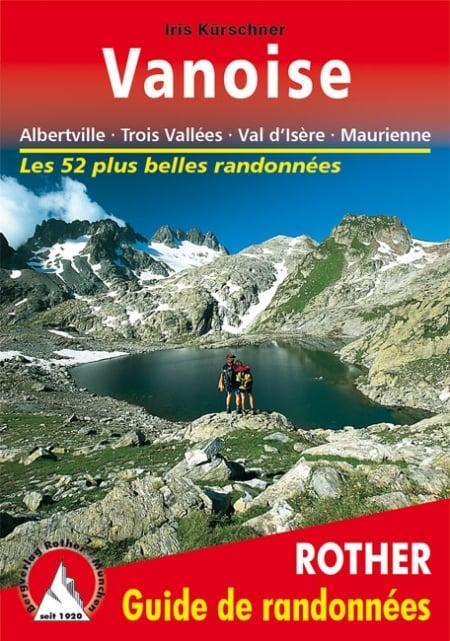 Cover Guide de randonnées Rother Vanoise von Iris Kürschner