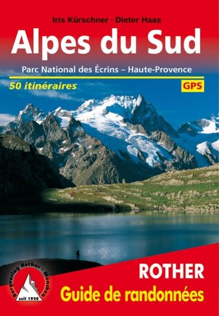 Cover Guide de randonnées Rother Alpes du Sud von Iris Kürschner