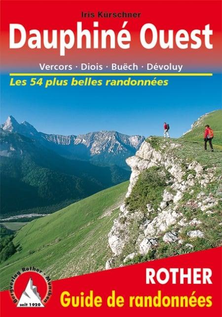 Cover Guide de randonnées Rother Dauphiné Ouest von Iris Kürschner