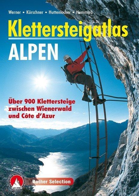 Cover Rother Klettersteigatlas Alpen von Iris Kürschner