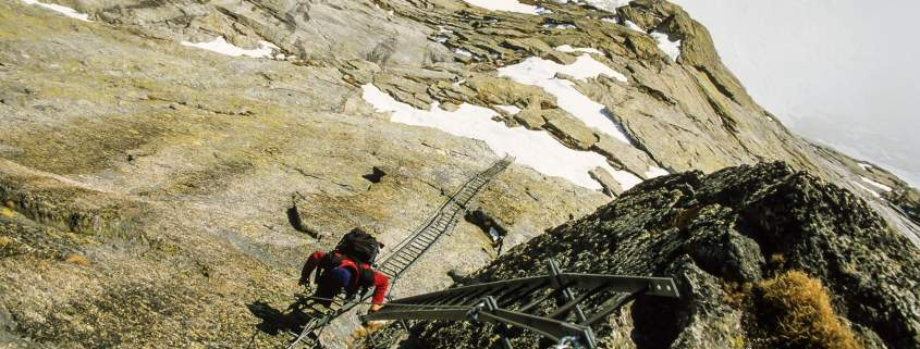 Via ferrata del Lago, Sunnigpass