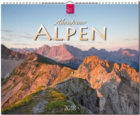 Kalender Abenteuer Alpen 2018 von Iris Kürschner