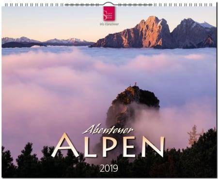 Kalender Abenteuer Alpen 2019 von Iris Kürschner