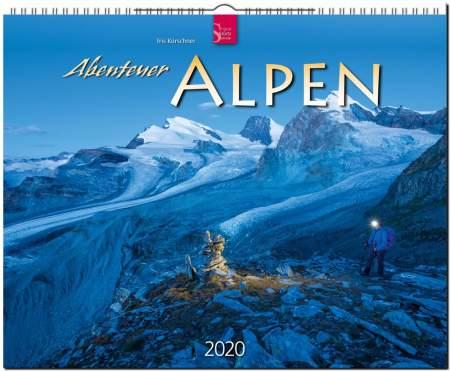Kalender Abenteuer Alpen 2020 von Iris Kürschner