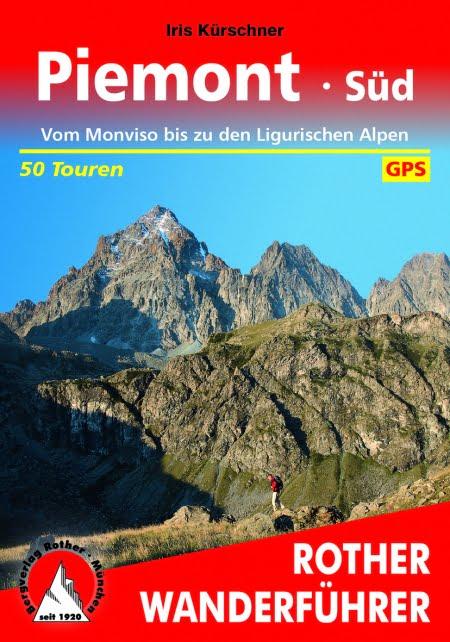 Cover Rother Wanderführer Piemont Süd von Iris Kürschner
