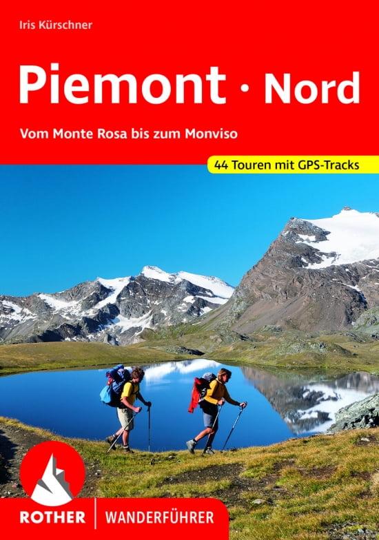 Cover Rother Wanderführer Piemont Nord von Iris Kürschner